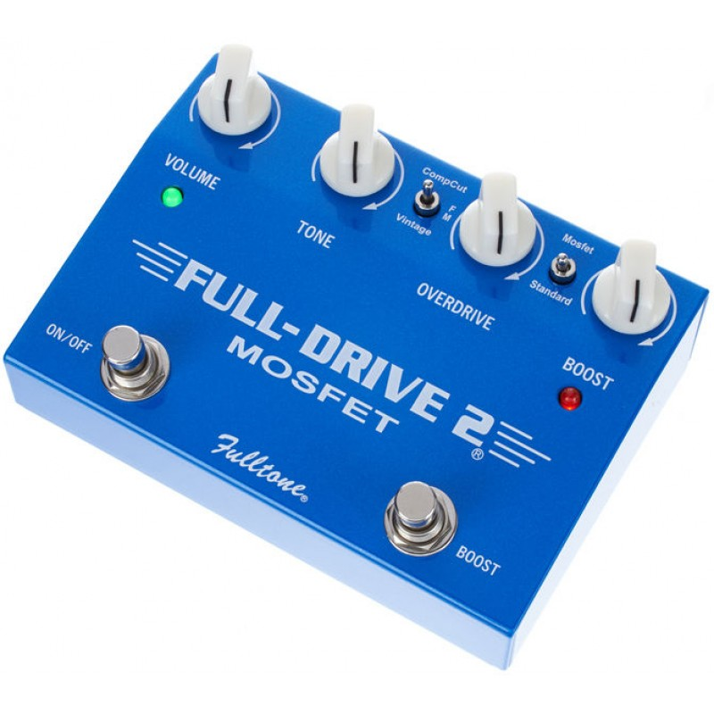 fulltone fulldrive2 mosfet overdrive boost pedal. Black Bedroom Furniture Sets. Home Design Ideas