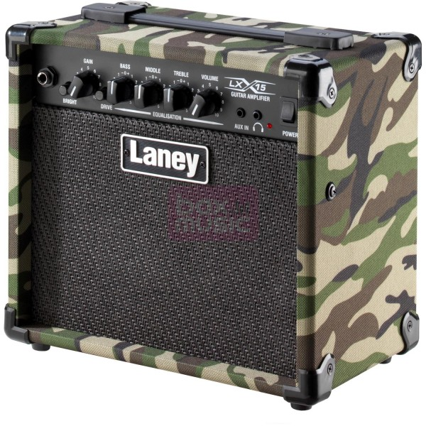 Laney LX15-CAMO 15W Guitar Amp Combo