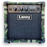 Laney Guitar Amplifier with Clean/Overdrive Channels 10W LX10- CAMO