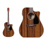 Fender CD60CE All Mahogany Acoustic Electric Guitar