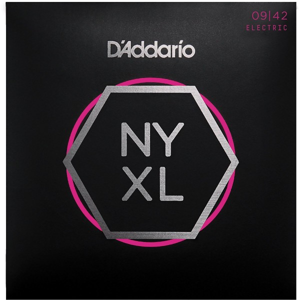D'Addario NYXL09-42 Nickel Plated Electric Guitar Strings, Extra Light