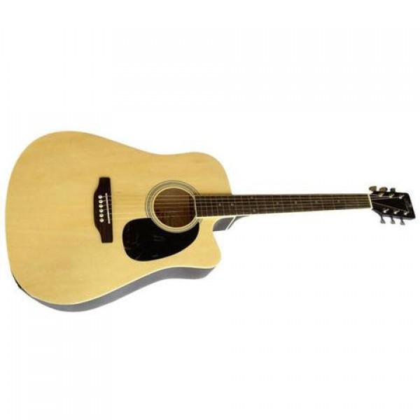 Pluto Hw41ce 101sp Cutway Semi Acoustic Guitar