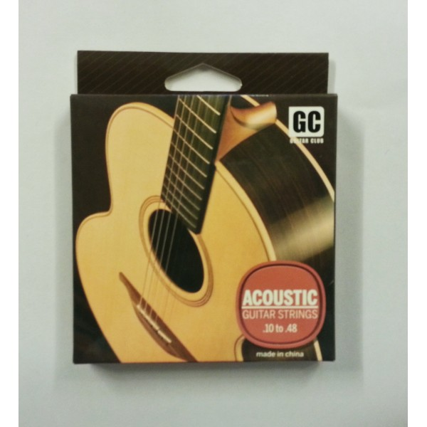 G.C 0.10 Acoustic Guitar String