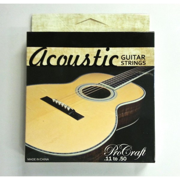 Procraft Professional Acoustic Guitar Strings 0.11