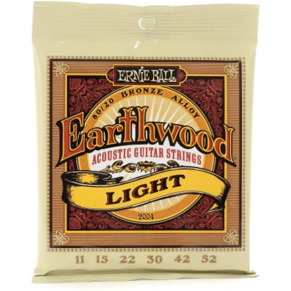 Ernie Ball Earthwood 2004 Bronze Acoustic String Set