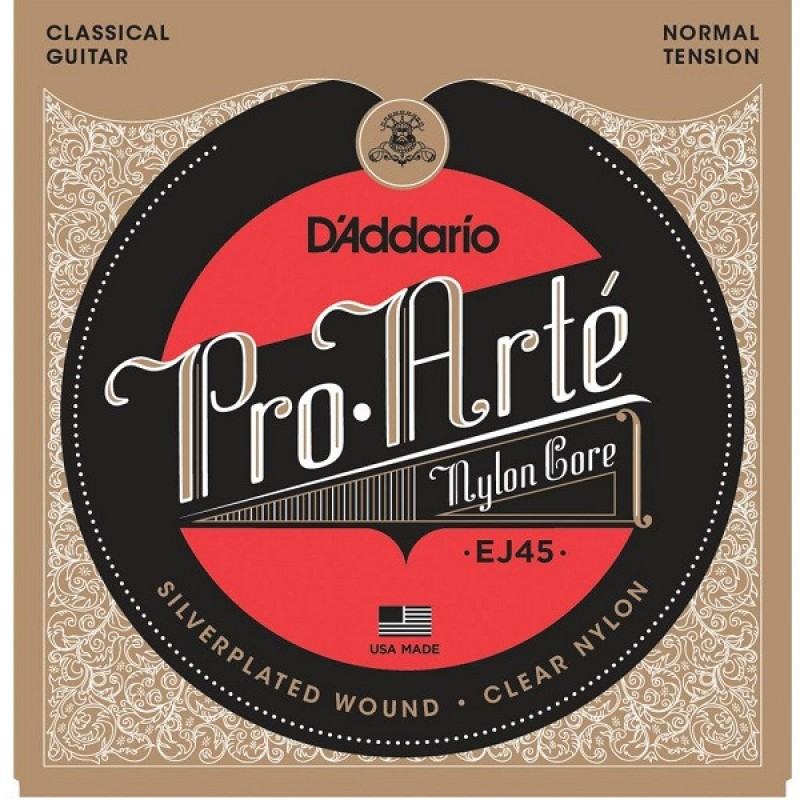 D Addario Ej45 Pro Arte Normal Tension Classical Guitar
