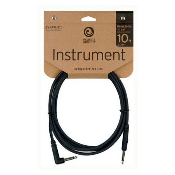 Planet Waves Classic Series Instrument Cable 10ft