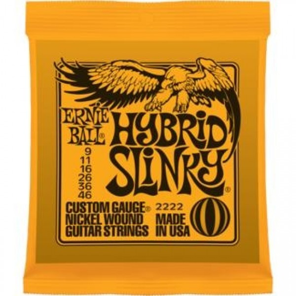 Ernie Ball 2222 Hybrid Slinky Electric Guitar String Set
