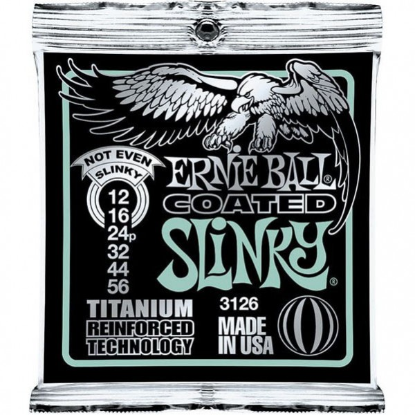 Ernie Ball 3126 Guitar Strings Coated Electric Not Even Slinky