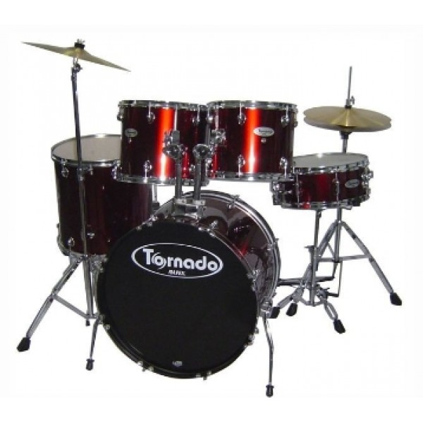 Mapex Tornado 5 Pcs Drum Set with hardware