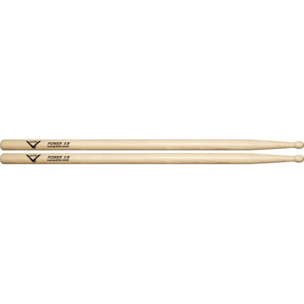 Vater Power 5B Wooden Tip Maple Sugar Wood