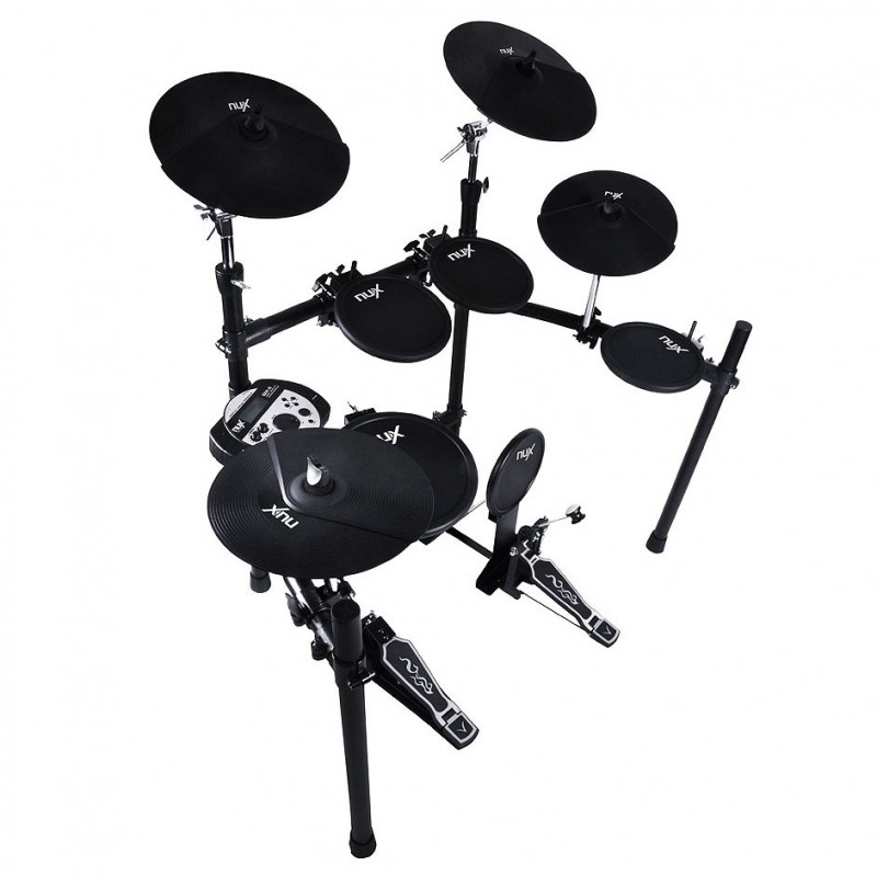 Nux Dm5 Electronic Digital Drumset With Hardware