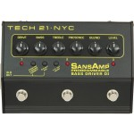Tech 21 Sansamp 3 ChannelProgrammable Bass Driver DI - Bass Pre-amp/Pedal