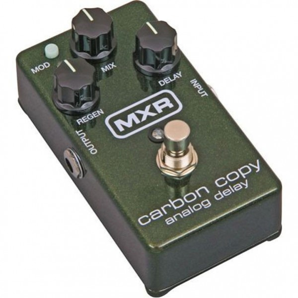 Dunlop MXR M169 Carbon Copy Analog Delay Guitar Effects Pedal