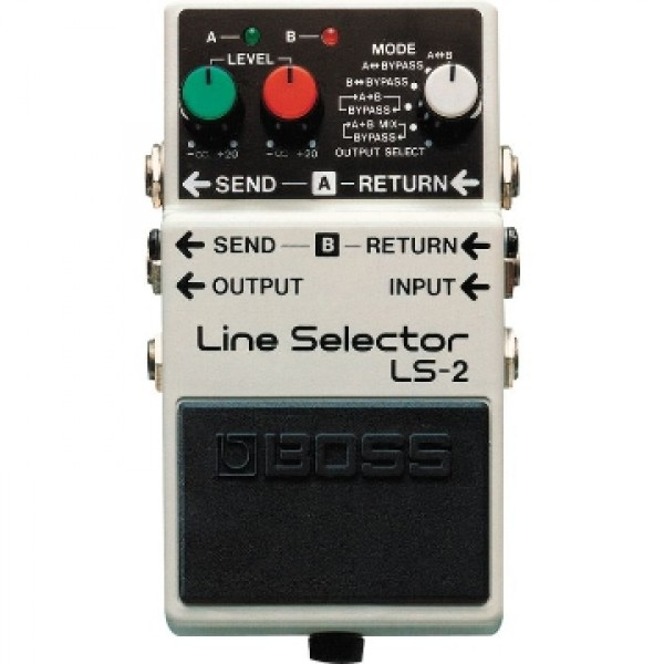 Boss LS-2 T Line Selector/Power Supply