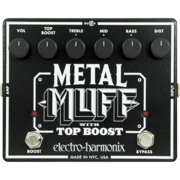 Electro Harmonix Metal Muff with Top Boost Pedal India