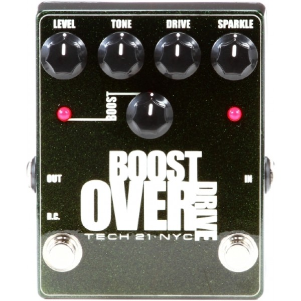 Tech 21 Boost Overdrive Metallic Pedal