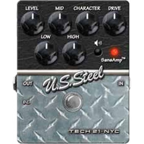 Tech 21 Sansamp Character Series US Steel Guitar Pedal