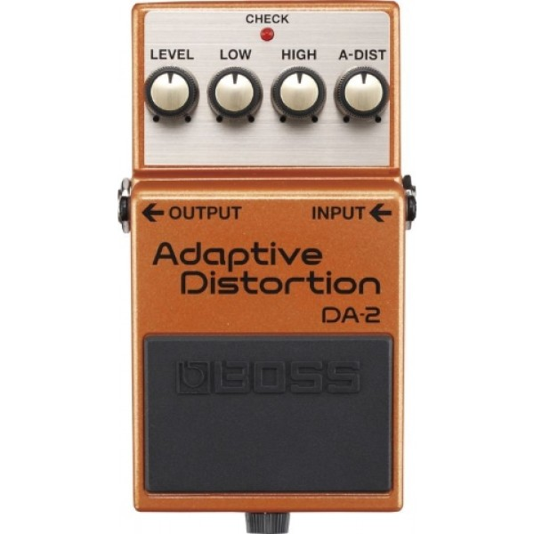 Boss DA-2 Adaptive Distortion Guitar Effects Pedal