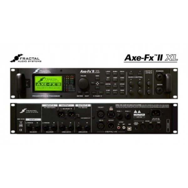 Fractal Audio AXE EFX II XL