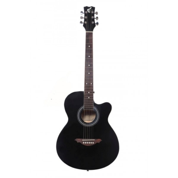 "GC 39""C Acoustic Guitar - Black"