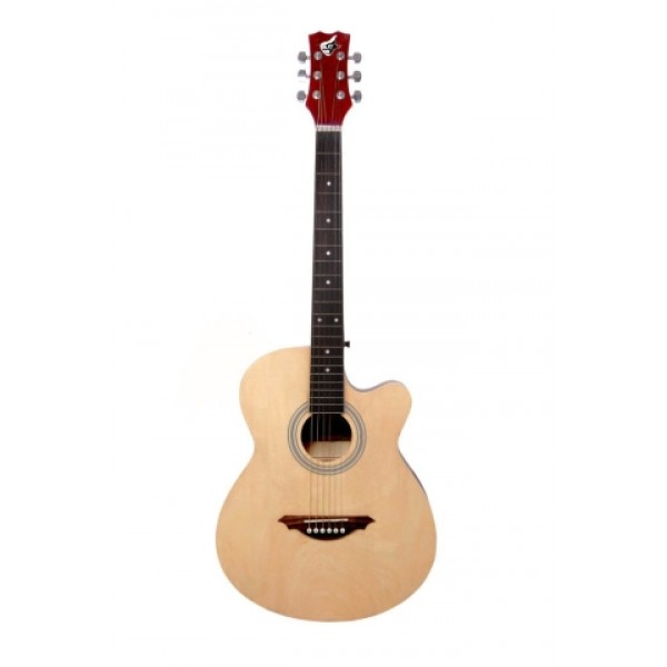 "GC 39""C Acoustic Guitar-Natural"