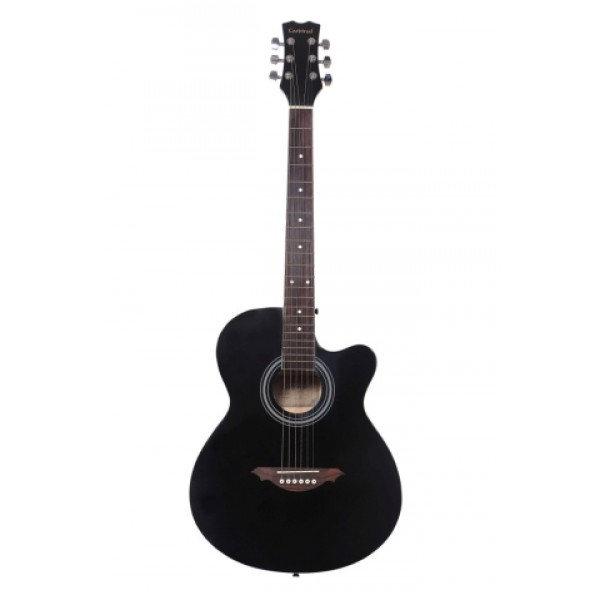 "Cardinal 39"" C Acoustic Guitar -Black"
