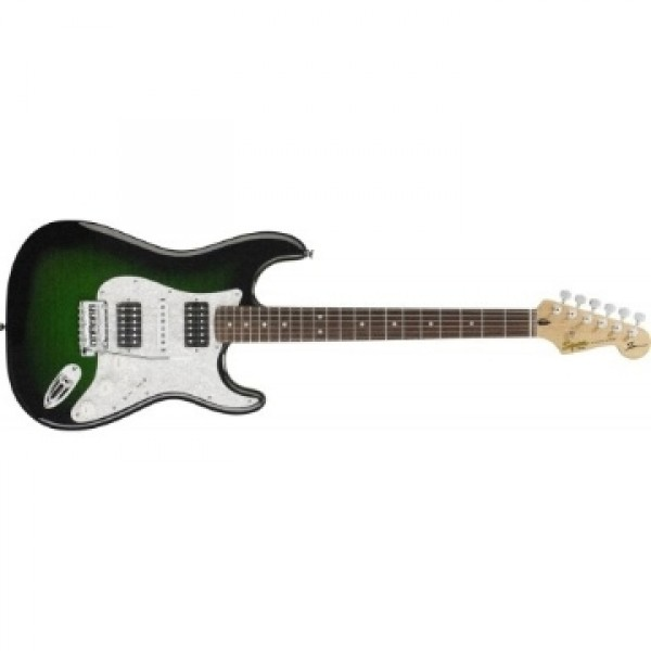Fender Squier Ehsaan Signature Series Electric Guitar-Green