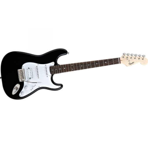 Fender Squier Bullet Strat HSS BK Electric Guitar with Case